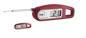 Прецизен цифров термометър със сонда - с прибираща се сонда. Джобен размер / Арт.№30.1047.05