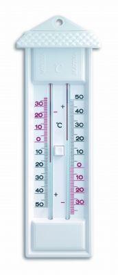 Термометър с бутон за вътрешна и външна, максимална и минимална температура / Арт.№10.3014.02