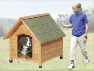 Къща за куче от дърво Класик на Karlie, размер M