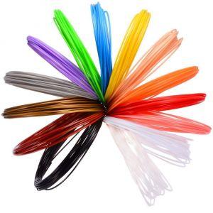 Комплект пълнители 14 цвята за 3D-писалка