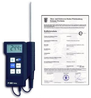 """Професионален дигитален термометър """"Р-300"""" – калибриран / Арт.№31.1020.K"""