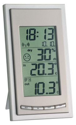 Безжична метеорологична станция  в комплект с 1 предавател / Арт.№30.3018.10.IT